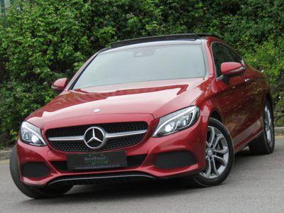 Mercedes-Benz C Class Coupe 2.0 C200 Sport (Premium) 7G-Tronic+ (s/s) 2dr
