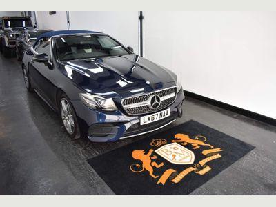 Mercedes-Benz E Class Convertible 2.0 E220d AMG Line (Premium Plus) Cabriolet G-Tronic+ (s/s) 2dr