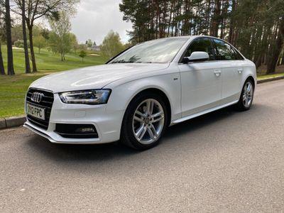 Audi A4 Saloon 2.0 TDI S line Multitronic 4dr