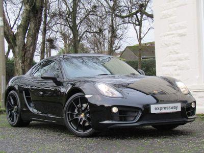 Porsche Cayman Coupe 2.7 981 Black Edition (s/s) 2dr