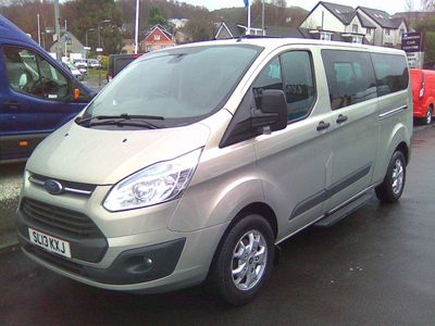 Ford Tourneo Custom Other 2.2 TDCi 300L Limited Low Roof Bus 5dr (8 Seats, LWB)