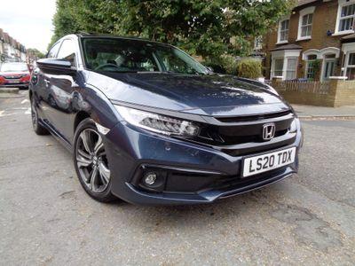 Honda Civic Saloon 1.0 VTEC Turbo EX CVT (s/s) 4dr