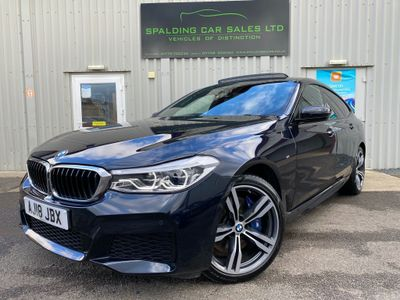 BMW 6 Series Gran Turismo Hatchback 3.0 630d M Sport Gran Turismo Auto xDrive (s/s) 5dr