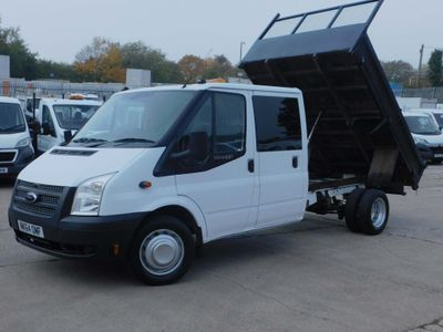 Ford Transit Tipper 2.2TDCI T350 DOUBLE CAB TIPPER
