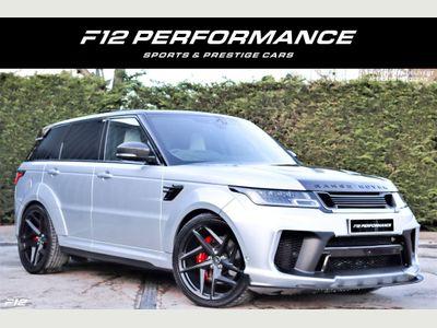 Land Rover Range Rover Sport SUV 5.0 P575 V8 SVR Auto 4WD (s/s) 5dr