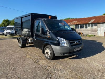 Ford Transit Chassis Cab 2.4 TDCi 350 Duratorq Chassis Cab M 2dr (DRW, MWB)