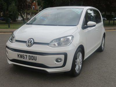Volkswagen up! Hatchback 1.0 BlueMotion Tech High up! (s/s) 5dr