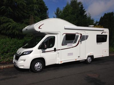 Elddis Autoquest 180 Coach Built 6 BERTH 6 BELTS 1 OWNER 5500 MILES