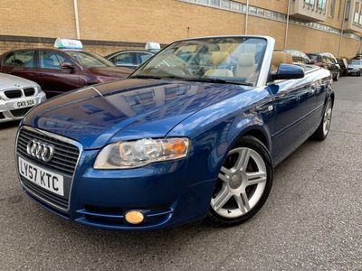 Audi A4 Cabriolet Convertible 2.0 TFSI Sport Cabriolet Multitronic 2dr