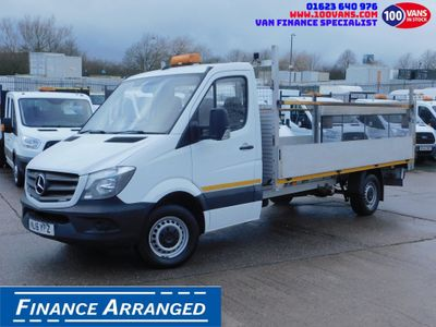 Mercedes-Benz Sprinter Dropside 2.1 CDI 313 XLWB DROPSIDE & TAIL LIFT