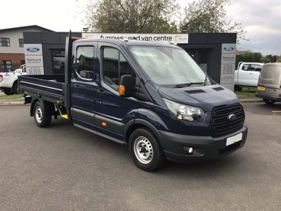 FORD TRANSIT Pickup 350 D/CAB ONESTOP DROPSIDE 130 PS