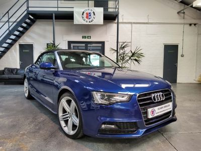 Audi A5 Cabriolet Convertible 3.0 TDI S line Cabriolet Multitronic 2dr
