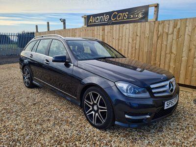 Mercedes-Benz C Class Estate 2.1 C220 CDI AMG Sport Plus 7G-Tronic Plus 5dr