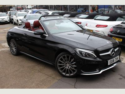 Mercedes-Benz C Class Convertible 2.1 C220d AMG Line Cabriolet G-Tronic+ 4MATIC (s/s) 2dr