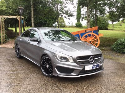 Mercedes-Benz CLA Class Coupe 1.8 CLA200 CDI AMG Sport 4dr