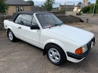 Ford Escort Convertible 1.6 2dr