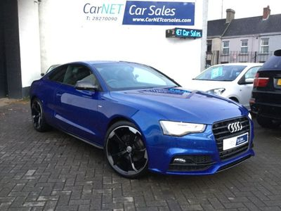 Audi A5 Coupe 1.8 TFSI Black Edition Plus 2dr