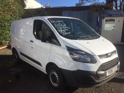 Ford Transit Custom Panel Van 290 custom euro 6
