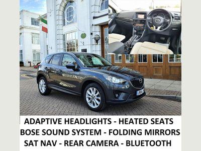 Mazda CX-5 SUV 2.2 SKYACTIV-D Sport Nav 4WD 5dr