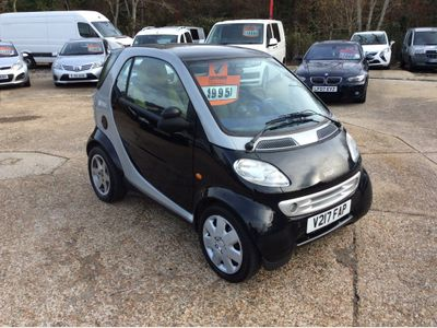 Smart fortwo Convertible 0.6 City Passion Cabriolet 2dr