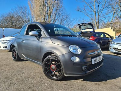 Fiat 500 Hatchback 1.2 Matt Black 3dr