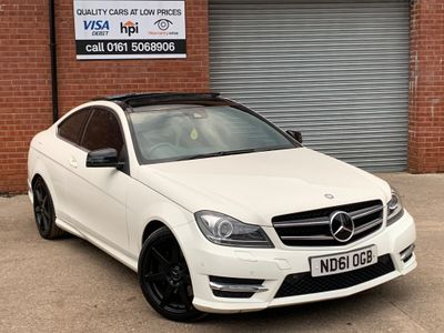 Mercedes-Benz C Class Coupe 3.5 C350 BlueEFFICIENCY AMG Sport 2dr