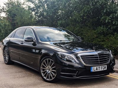 Mercedes-Benz S Class Saloon 3.0 S350d AMG Line (Executive Premium) 9G-Tronic Plus 4dr