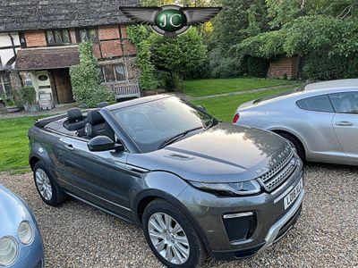 Land Rover Range Rover Evoque Convertible 2.0 TD4 SE Dynamic Auto 4WD (s/s) 2dr