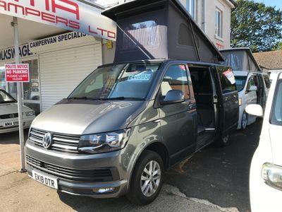 Volkswagen Transporter Campervan T6 CAMPER CONVERSION POP TOP ROOF
