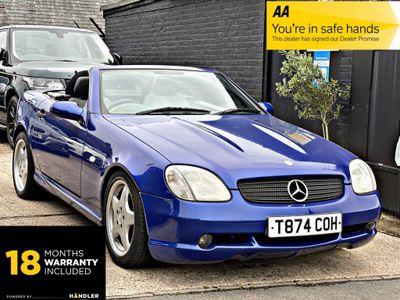 Mercedes-Benz SLK Convertible 2.3 SLK230 Kompressor Kompressor 2dr