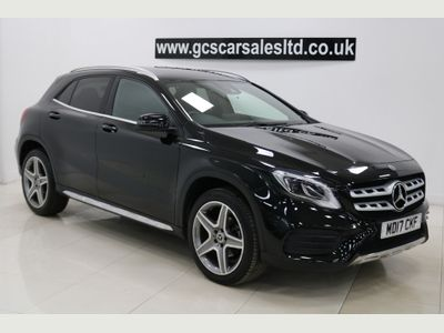 Mercedes-Benz GLA Class SUV 2.1 GLA200d AMG Line (Premium) 7G-DCT 4MATIC (s/s) 5dr