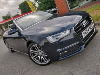 Audi A5 Cabriolet Convertible 3.0 TDI V6 S line Special Edition Cabriolet S Tronic quattro 2dr