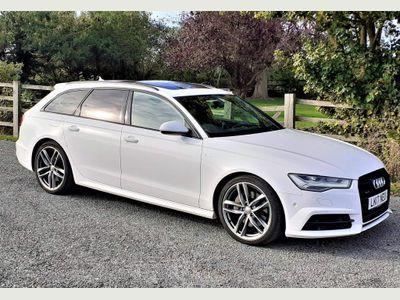 Audi A6 Avant Estate 3.0 TDI V6 Black Edition Avant S Tronic quattro (s/s) 5dr