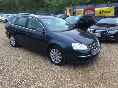 VOLKSWAGEN GOLF Estate 2.0 TDI CR SE DSG 5dr