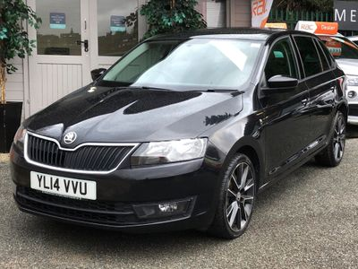 SKODA Rapid Spaceback Hatchback 1.2 TSI Black Edition Spaceback 5dr