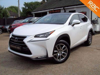 Lexus NX 300h SUV 2.5 Luxury (Convenience Pack) E-CVT 4WD 5dr (Pan roof)