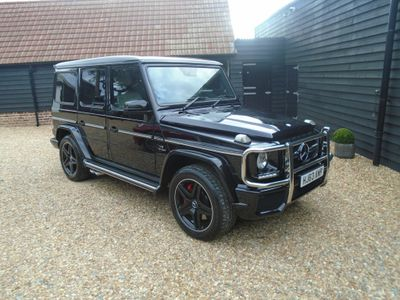 Mercedes-Benz G Class SUV 5.5 G63 BiTurbo AMG G-Tronic+ 4WD (s/s) 5dr