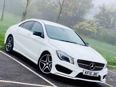 Mercedes-Benz CLA Class Coupe 1.6 CLA180 AMG Sport 7G-DCT (s/s) 4dr