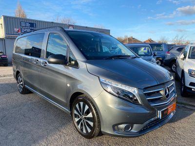 Mercedes-Benz Vito Combi Van 2.1 119 CDi BlueTEC Crew Van G-Tronic+ RWD L2 EU6 (s/s) 5dr