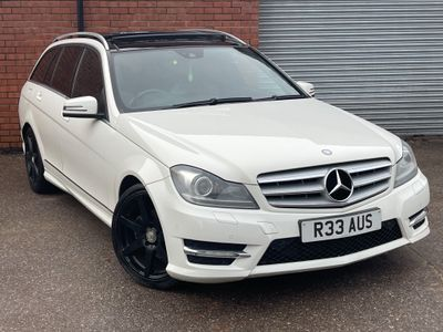 Mercedes-Benz C Class Estate 2.1 C220 CDI BlueEFFICIENCY Sport G-Tronic 5dr