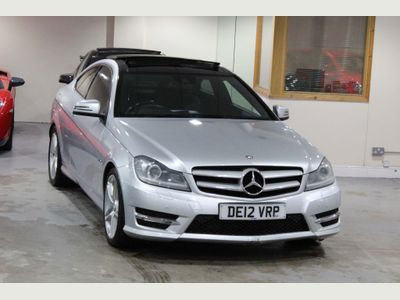 Mercedes-Benz C Class Coupe 2.1 C250 CDI BlueEFFICIENCY AMG Sport 2dr