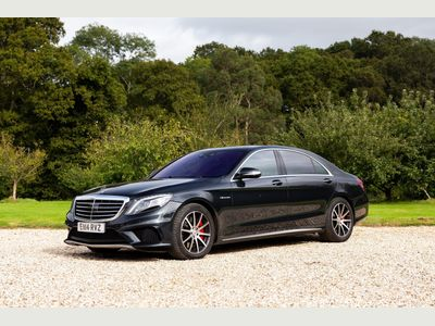 Mercedes-Benz S Class Saloon 5.5 S63L AMG MCT 4dr