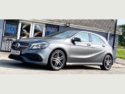Mercedes-Benz A Class Hatchback 1.5 A180d AMG Line (s/s) 5dr