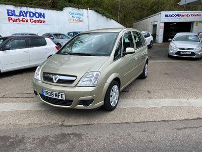 Vauxhall Meriva MPV 1.7 CDTi 16v Club 5dr (a/c)