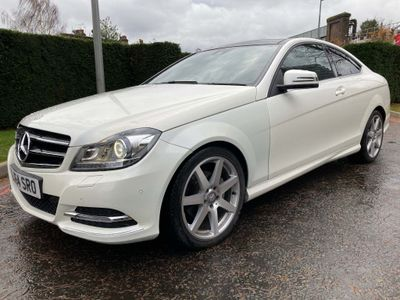 Mercedes-Benz C Class Coupe 2.1 C220 CDI AMG Sport Edition 7G-Tronic Plus 2dr (Map Pilot)