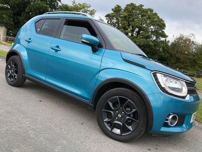 Suzuki Ignis Hatchback 1.2 Dualjet MHEV SZ5 ALLGRIP (s/s) 5dr