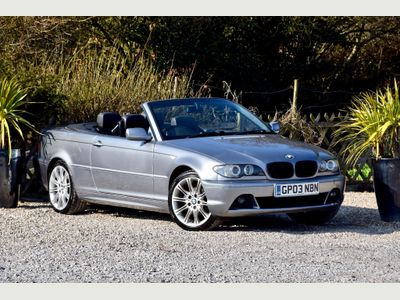 BMW 3 Series Convertible 2.0 318Ci 318 2dr