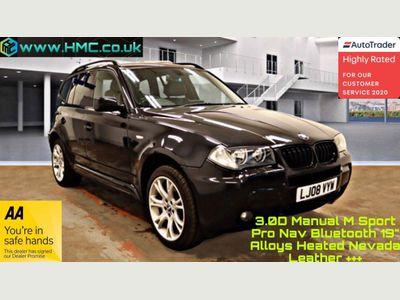 BMW X3 SUV 3.0d M Sport 4WD 5dr