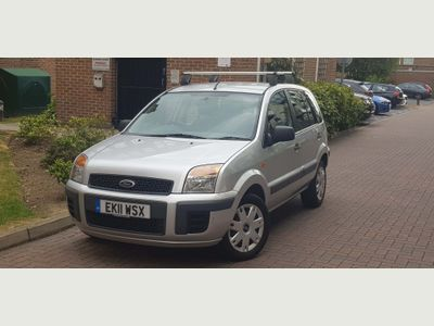 Ford Fusion Hatchback 1.4 Style + 5dr