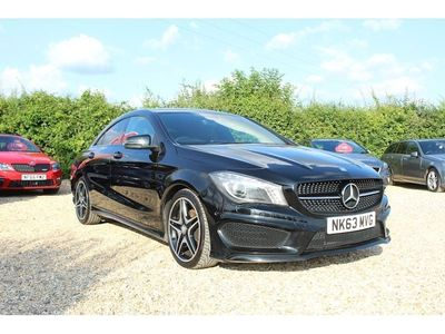 Mercedes-Benz CLA Class Coupe 1.6 CLA180 AMG Sport 4dr